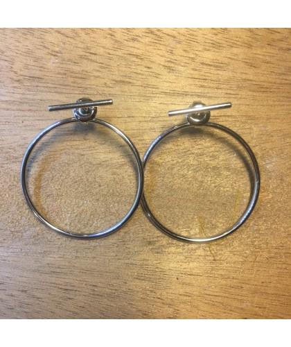 Boucles d'oreille CIRCLE