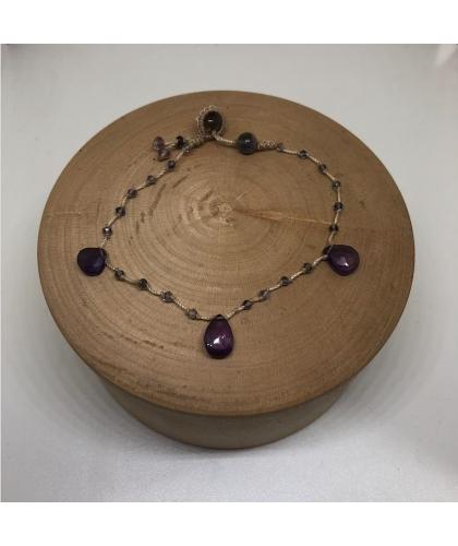 Bracelet en pierres fines